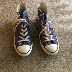 Converse all star high top sneaker size 7